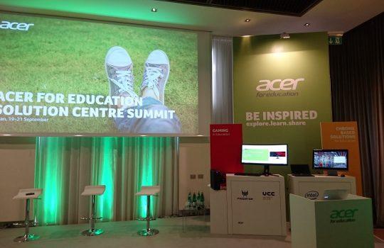 Gowizyou participe au Acer for Education Solution Center Summit à Milan