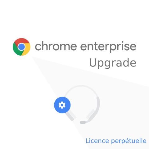 Chrome Enterprise Upgrade perpetuelle