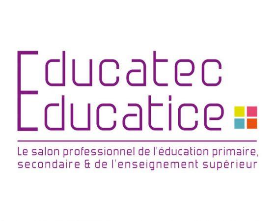 Educatice Educatec : Retrouvez-nous sur le salon !