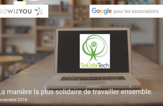 Le webinaire Google pour les associations est en ligne
