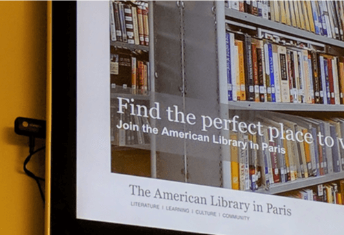The American Library in Paris a choisi Google et GoWizYou