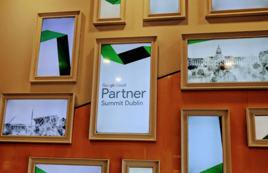 EMEA Partner Summit event | Google Dublin