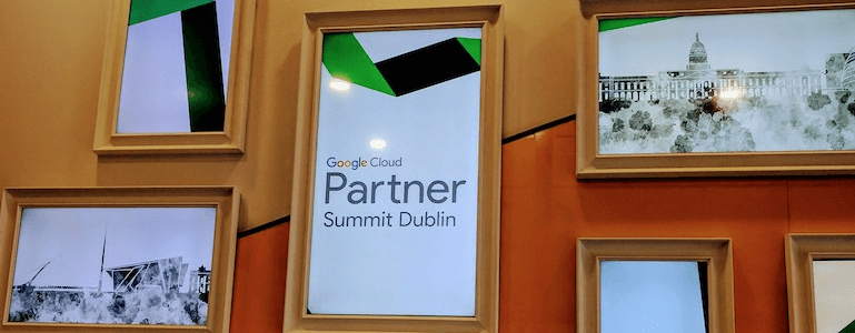 EMEA Google Partner Summit event à Dublin