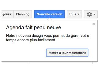 Google Agenda : Nouveau Look, Nouvelles Fonctionnalités