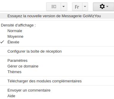 nouvelle version gmail activation