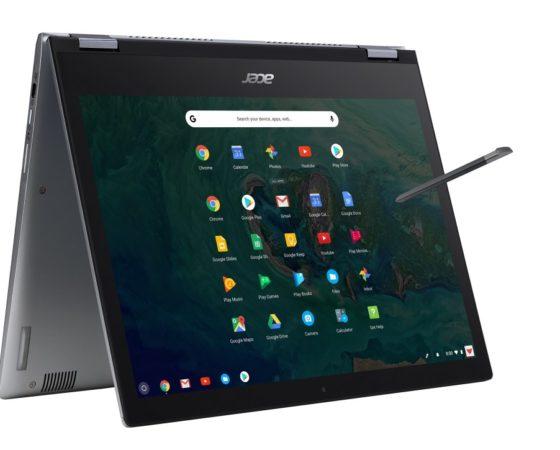 """Acer annonce deux nouveaux Chromebooks 13"""" conçus pour les entreprises"""