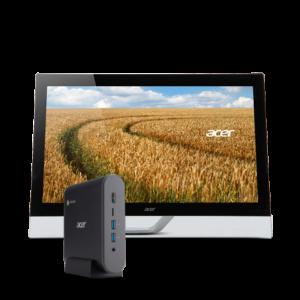 Acer Chromebox CXi3 + ecran T2