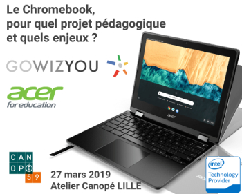 Journée découverte | Le Chromebook, pour quel projet pédagogique et quels enjeux ?