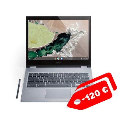 Acer Chromebook Spin 13 promo