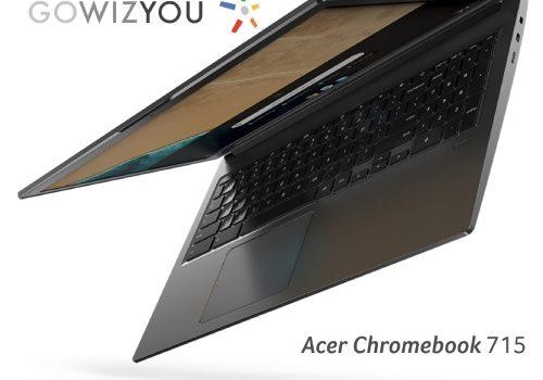 Les Acer Chromebook 714 et 715 bientôt disponibles chez GOWIZYOU