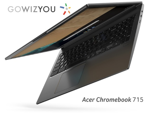 Les Acer Chromebook for Work 714 et 715 disponibles chez GOWIZYOU