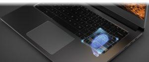 Acer Chromebook 714 fingerprint