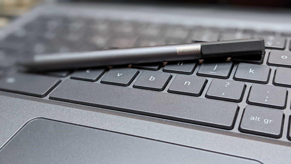 Le Stylet USI Lenovo sur un Chromebook Spin 713 d'Acer