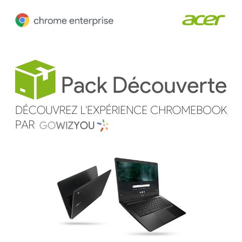 Pack Découverte Chrome Enteprise