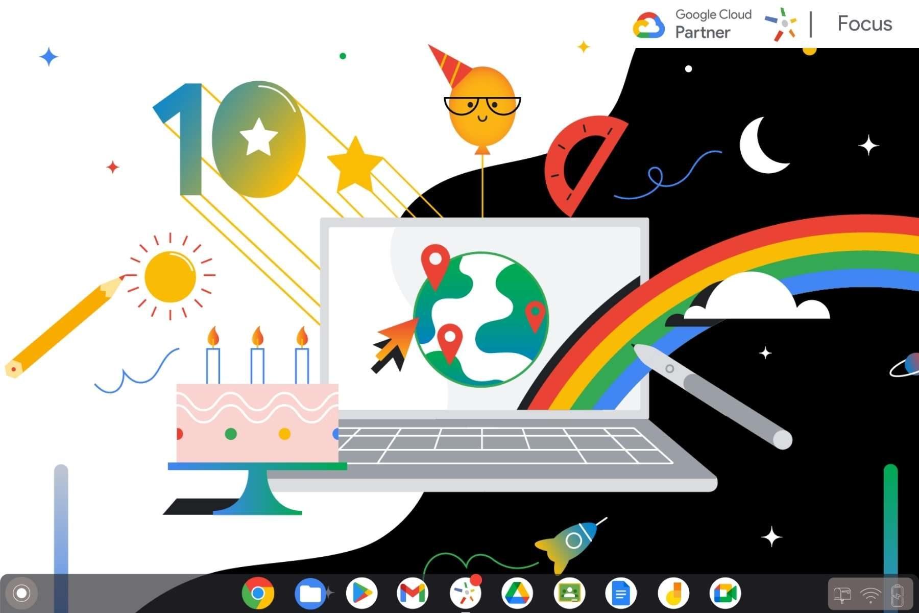 Joyeux anniversaire Chromebook !