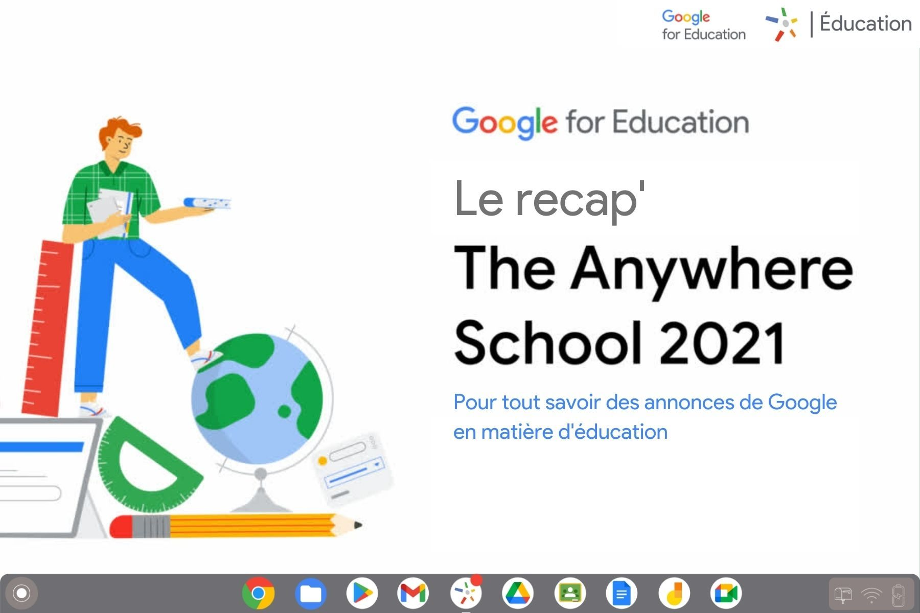 The Anywhere School - Le récap'